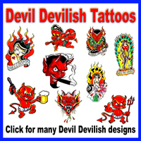 Devil Devilish Tattoos