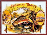 Speckled Trout Cigar Label