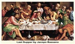 Last Supper with Christ
