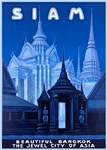 Siam Travel Poster 1