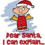 Dear Santa Bad Angel