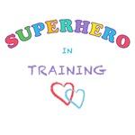 SUPER HERO IN TRAINING - KIDS T-SHIRTS