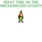St Patricks Shirts for Shenanigans bar visitors