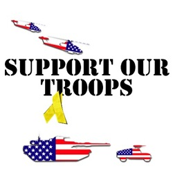 Support Our Troops Shirts and gifts for Americans