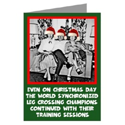 Online Christmas card with retro photo and slogan