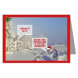 Funny Obama cards for Christmas