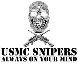 USMC sniper shirts-Barrett 50 cal