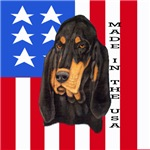 Patriotic Black & Tan