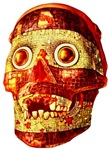 Women's Aztec Ceremonial Mask Apparel