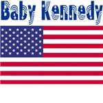 Baby Kennedy (American flag)