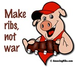 Make ribs, not war