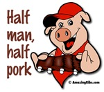 Half man, half pork