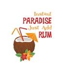 Instant Paradise Just Add Rum