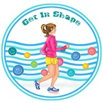 Get In Shape Lady Runner GISGYM