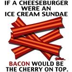 If a Cheeseburger were an Ice Cream Sundae