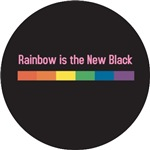 Gay Pride - Rainbow New Black