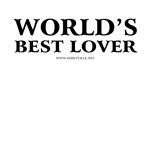 World's Best Lover T-Shirts