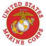 USMC emblem e8