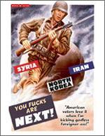 Syria, Iran, North Korea