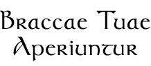 Braccae Tuae Aperiuntur