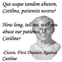 Cicero/Catiline -