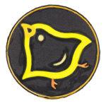 Yellow Chick Peeping & Hopping