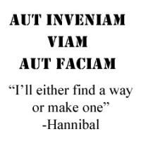 Aut Inveniam Viam Aut Faciam -Text