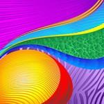 Rainbow Colors Abstract Fantasy