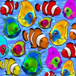 Tropical Fishes Pattern