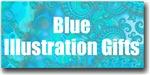 Blue / Turquoise Illustration Gifts