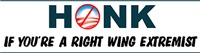 Honk If You're a Right Wing Extremist