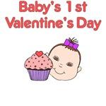 Valentine Cupcake Baby