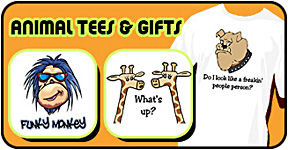 Animal t-shirts & gifts