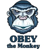 Obey the Monkey t-shirts & gifts