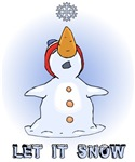 Let it Snow t-shirts & gifts