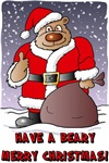 Beary Merry Christmas t-shirts & gifts