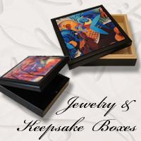 Jewelry Box Tile Boxes by Juleez