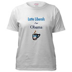 Latte Liberals for Obama Clothing and Accessories