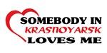 Somebody in Krasnoyarsk loves me