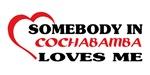 Somebody in Cochabamba loves me