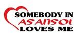 Somebody in Asansol loves me