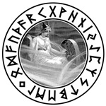 Frigg Rune Shield