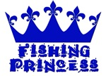 Fishing Princess - Blue