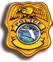FLORIDA POLICE BADGE