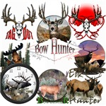 Hunting,mule deer and elk
