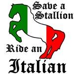Save a Stallion Ride an Italian