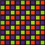 Colorful Urban Checkerboard