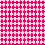 Pink Diamond Checkerboard