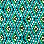 Aqua Hippie Diamonds