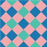 Tri-color Checkerboards